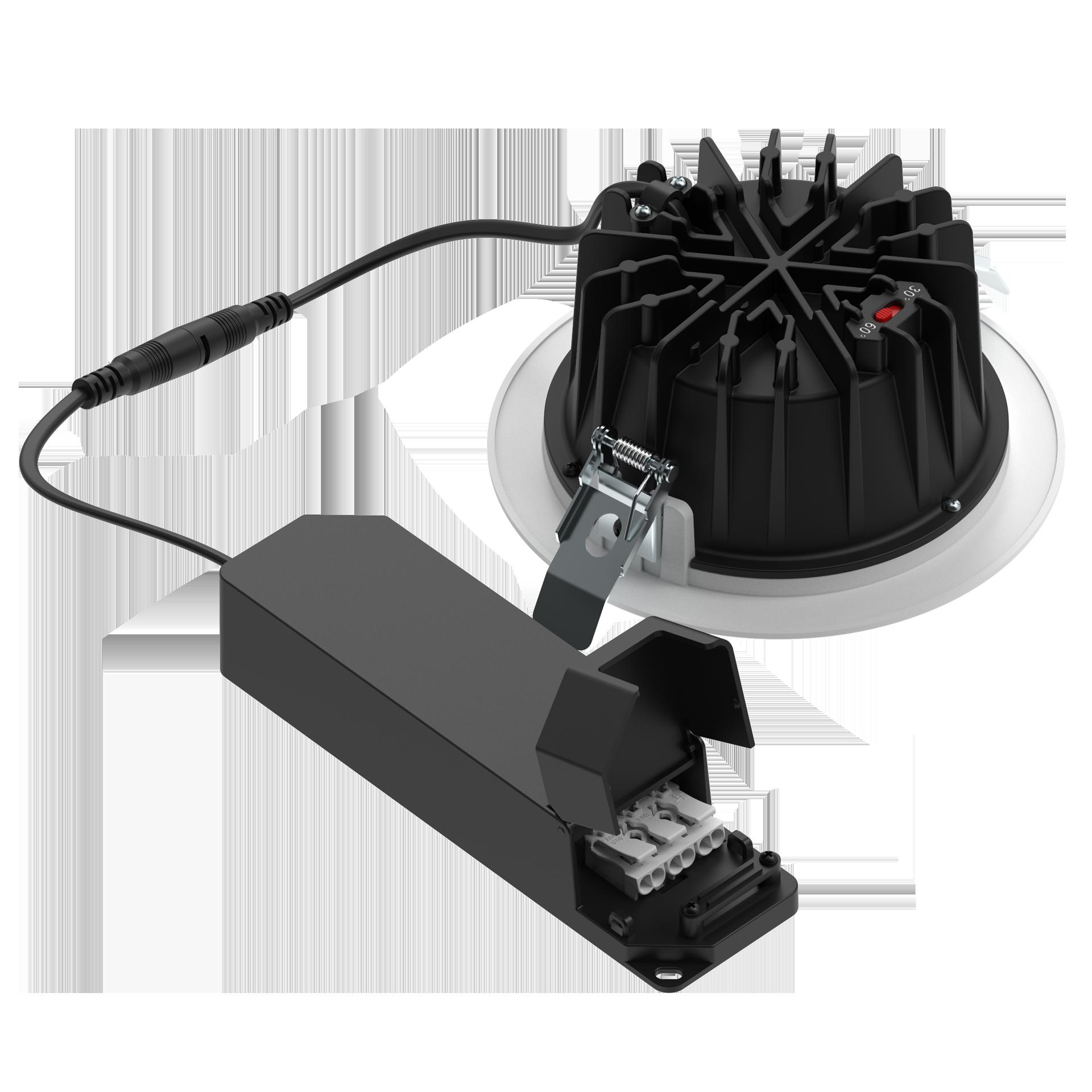 OEM/ODM Manufacturer 8 Inch Can Light Led Retrofit 20watt - 2 Beam Angles SWITCHABLE  8W/10W/13W/15W/20W/25W/30W/35W Commercial downlights – Radiant Lighting